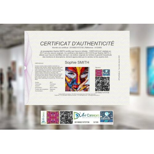 PREMIUM CERTIFICATE   For Confirmed Artists