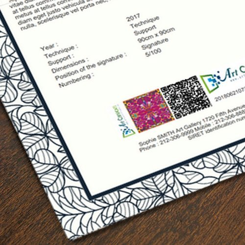 CREATE QRCODES   For your existing certificates