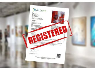 CERTIFICATE OF DEPOSIT <br /> Protect your artwork
